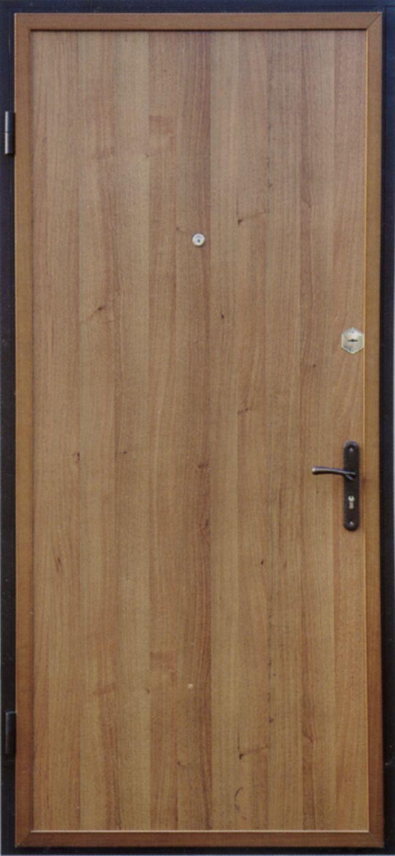 ламинированный металлические двери