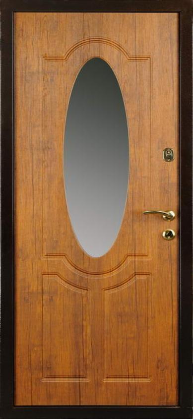 железные двери с обратной стороны зеркало