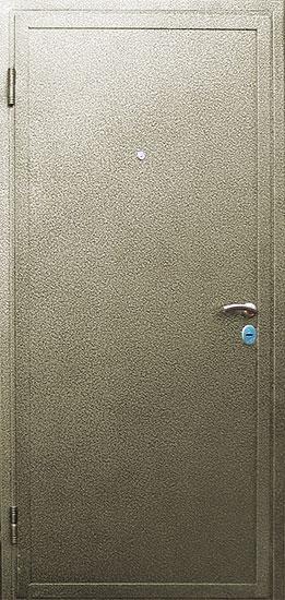 стальная дверь порошковая окраска с двух сторон
