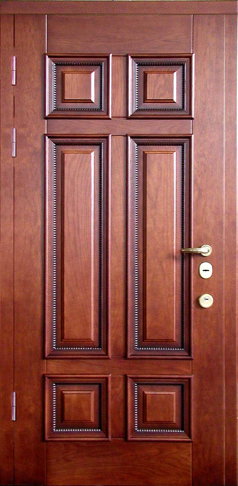 элитные входные двери массив